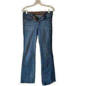 VIGOSS Jeans Bootcut Denim Pants for Women with Br